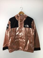 18SS/metallic mountain parka/マウンテンパーカ/S/ナイロン/ピンク/NP118011