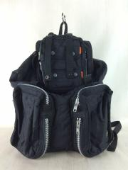 622-09162/RUCKSACK/TANKER/ラックサック/リュック/ナイロン/BLK/中古/USED