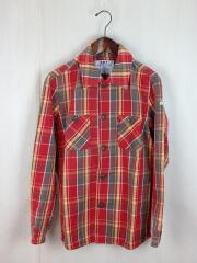 VINTAGE MADRAS CHECK SHIRTS/M/コットン/ORN/チェック
